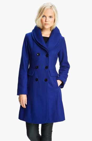 I want this blue coat!