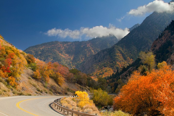 Fall in Big Cottonwood Canyon-L
