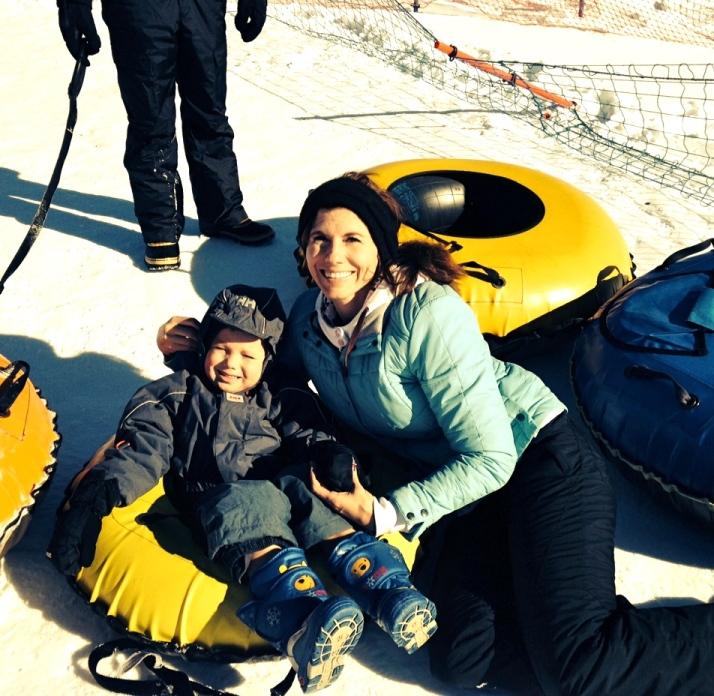Yay sledding!