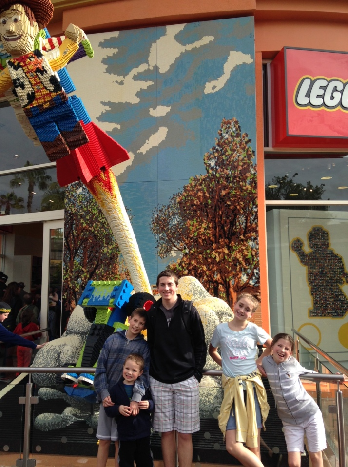 We love legos!