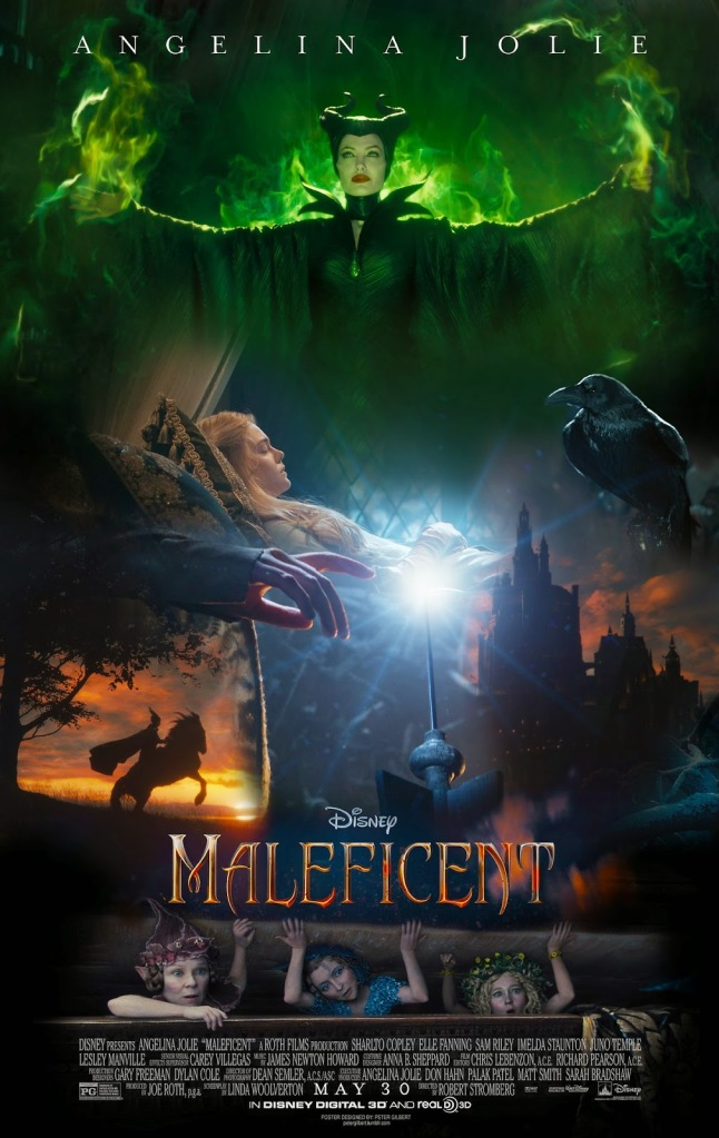 Maleficent fan made poster Peter Gilbert